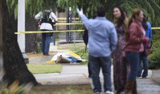 In Fresno tötete ein Mann wahllos drei Menschen. (Foto)