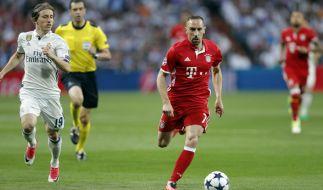 Beim Spiel zwischen Real Madrid und FC Bayern kam es zu Ausschreitungen im Fan-Block. (Foto)