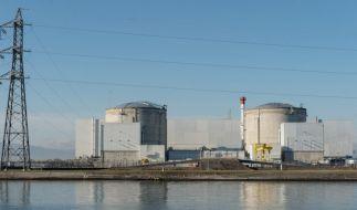 Das Atomkraftwerk in Fessenheim ist höchst umstritten. (Foto)