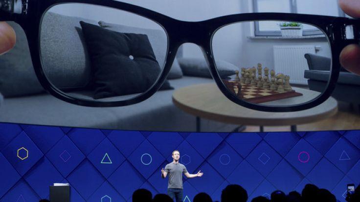 Mark Zuckerberg stellt neue Entwicklungen auf der F8 Facebook Konferenz vor, die vom 18. bis 19. April 2017 stattfindet. (Foto)