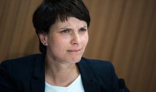 Frauke Petrys Vorherrschaft in der AfD steht vor der Bundestagswahl auf einem unsicheren Fundament. (Foto)