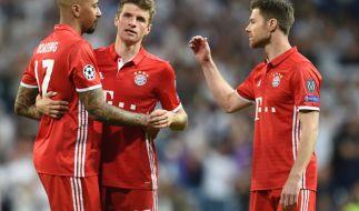Ds früheste Ausscheiden seit 2011. Für den FC Bayern München ist im Viertelfinale Schluß in der Königsklasse. (Foto)