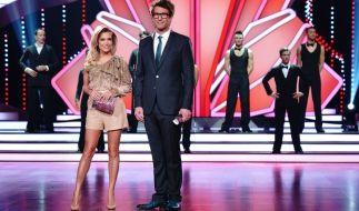 """Die """"Let's Dance""""-Moderatoren Sylvie Meis und Daniel Hartwich bitten zum Tanz. (Foto)"""