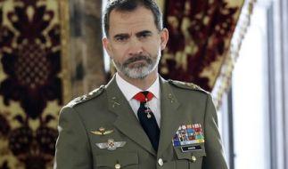 Seit Sommer 2014 ist der ehemalige Prinz Felipe König von Spanien und Nachfolger seines Vater König Juan Carlos I. (Foto)