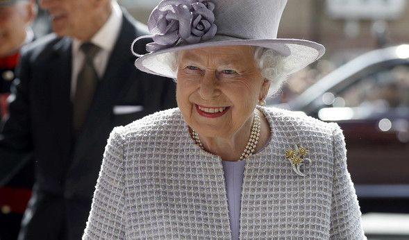 Queen Elizabeth hat Geburtstag am 21.4.2017