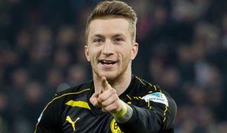 Marco Reus muss mit dem BVB am 30. Spieltag nach dem verlorenen CL-Viertelfinale gegen Borussia Mönchengladbach ran. (Foto)