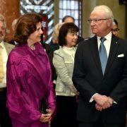Was macht das schwedische Königspaar in Berlin? (Foto)