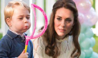 Auch Kate Middleton fühlte sich nach Geburt von Prinz George einsam und überfordert. (Foto)