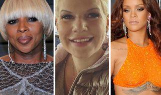 Mary J. Blige, Melanie Müller und Rihanna hatten keine gute Woche. (Foto)