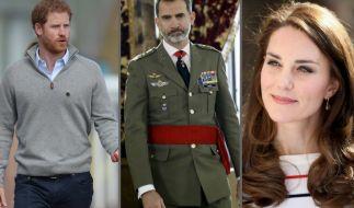 Von Prinz Harry über König Felipe von Spanien bis Kate Middleton: Diese Royals-Meldungen schockierten in der vergangenen Woche die Welt. (Foto)