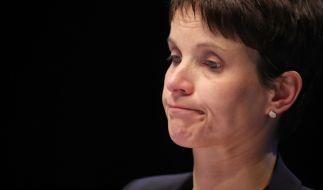 Frauke Petry stieß bei Ihren AfD-Kollegen auf taube Ohren. (Foto)
