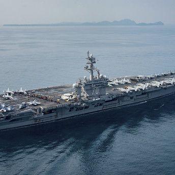 Kim Jong-un will US-Flugzeugträger abschießen (Foto)