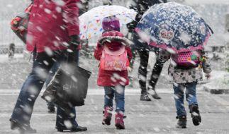 In der letzten April-Woche 2017 wird es vielerorts noch einmal winterlich. (Foto)