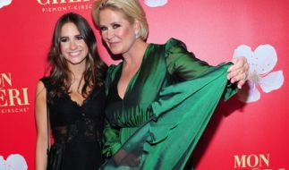 Lucia Strunz mit ihrer Mutter Claudia Effenberg. (Foto)