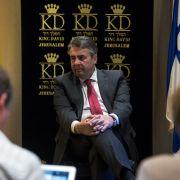 Netanjahu lässt Treffen mit Gabriel platzen (Foto)