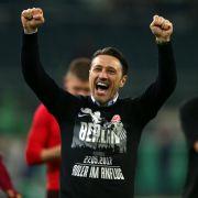Frankfurt im Pokalfinale - Sieg im Elfmeter-Drama gegen Gladbach (Foto)
