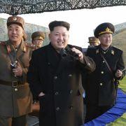 Erschreckende Bilder! HIER probt Kim Jong-un den Krieg (Foto)