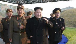 Kim Jong-un provoziert mit Raketentests. Doch könnte er einen Krieg wirklich überstehen? (Foto)