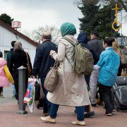 Bundespolizei fasst mehr als 13.000 illegale Migranten (Foto)