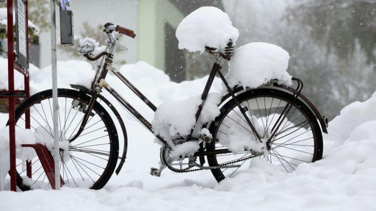 Nichts mit Frühling: Der April überrascht in diesem Jahr mit reichlich Schnee.