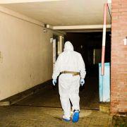 Die Spurensicherung war mehrere Stunden am Tatort beschäftigt.