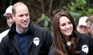Prinz William und seine Ehefrau Herzogin Kate haben derzeit mächtig Zoff mit ihren Nachbarn. (Foto)