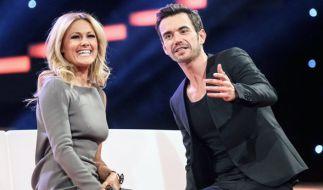 Helene Fischer und ihr Freund Florian Silbereisen geben bei öffentlichen Auftritten stets ein perfektes Paar ab. (Foto)