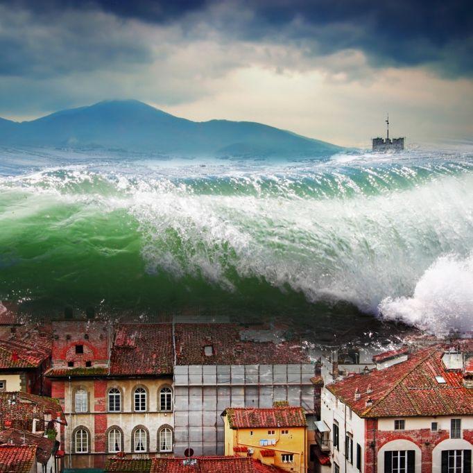 Zerstört ein Mega-Tsunami Europas Küsten? (Foto)