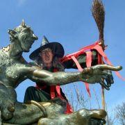 Die Walpurgisnacht im Harz wird vielerorts zelebriert.
