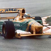 Dieser Benetton wurde im letzten Jahr versteigert.