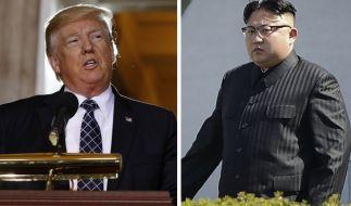 Zwischen den USA und Nordkorea brodelt es. (Foto)