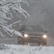 Schnee-Chaos! Wetterdienst gibt 43 Unwetterwarnungen heraus (Foto)
