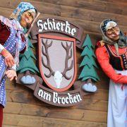 So wie in Schierke, am Fuße des Brocken...