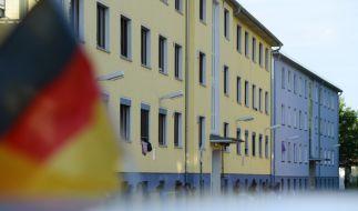 Die Erstaufnahmeeinrichtungfür Flüchtlinge in Gießen. (Foto)