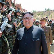 Irre Propaganda! Nordkorea lässt Bomben auf USA regnen (Foto)