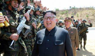 Kim Jong-un schockt mit neuem Propaganda-Video. (Foto)