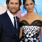 Matthew McConaughey und seine Frau Camila Alves. (Foto)