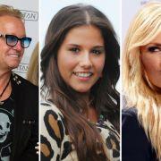 Robert Geiss, Sarah Lombardi und Helene Fischer (v.l.n.r.) sind nur drei Promis, die sich in der vergangenen Woche in einem gewaltigen Shitstorm wiederfanden. (Foto)