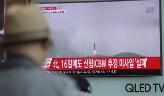 Ein erneuter Raketentest von Nordkorea soll fehlgeschlagen sein. (Foto)