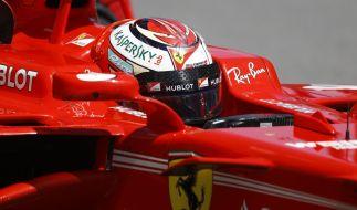 Wird Ferrari Fahrer Sebastian Vettel auch in Sotschi wieder allen davon fahren? (Foto)