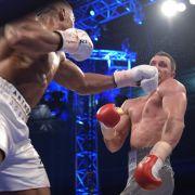 Wladimir Klitschko nach TKO in Runde 11 entthront! (Foto)