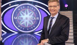 """Seit 1999 moderiert Günther Jauch nun schon """"Wer wird Millionär?"""". (Foto)"""