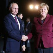 Merkel war zu Gast bei Putin (Foto)