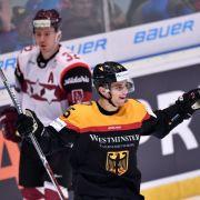 Er ist DER Newcomer im deutschen Eishockey-Kader (Foto)