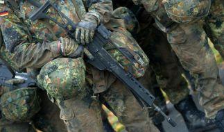 Die Bundeswehr wird derzeit von einem Skandal erschüttert: Angeblich gibt es Hinweise auf ein rechtsextremes Netzwerk im Fall Franco A.. (Foto)