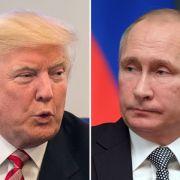 Putin und Trump planen erstes Gespräch in Deutschland (Foto)