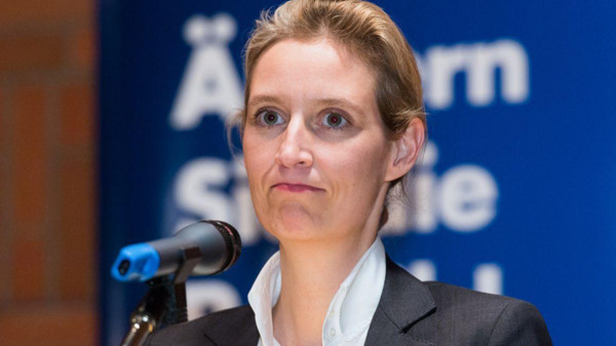 Nackt alice weidel Alice Weidel