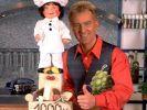 """TV-Koch Armin Roßmeier - hier in einer Aufnahme von 1998 - war auch schon beim """"Sat.1 Kochstudio"""" zu sehen. (Foto)"""