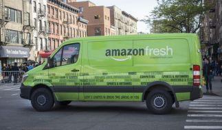 Der Online-Versandhändler Amazon liefert jetzt auch in Deutschland frische Lebensmittel. (Foto)