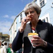 Theresa May erhebt schwere Vorwürfe gegen EU (Foto)